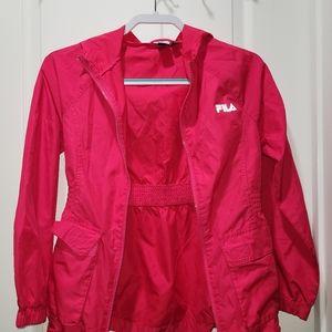 Fila sport jacket size 16(XL)